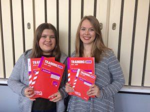 Mentoring-Paar Alina und Johanna